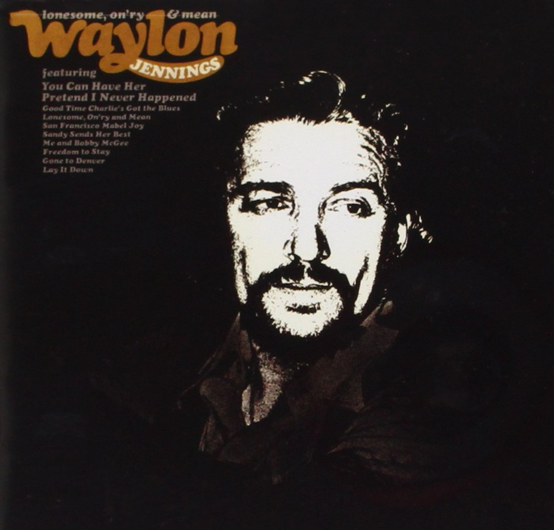 CD : Waylon Jennings - Lonesome On'ry and Mean (CD)