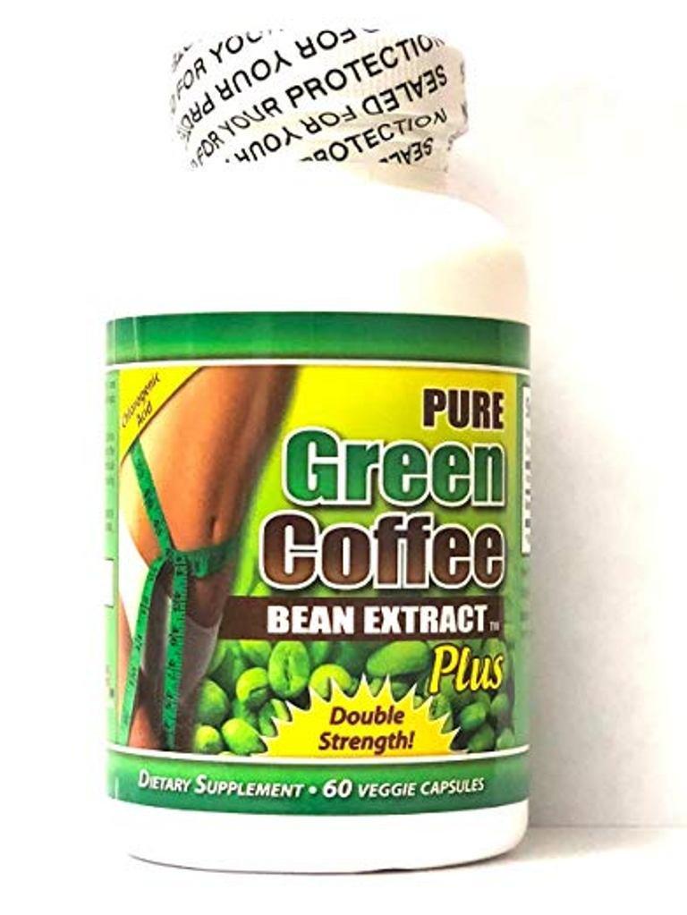 QFL Pure Green Coffee Bean: Highest Grade & Quality Antioxidant GCA (Standardized to 50% Chlorogenic Acid) for Men & Women (Best Formula) - Burns Both Fat and Sugar. Made in USA. (3 bottles)