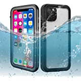 iPhone 11 Pro Waterproof Case 5.8 Inch, Dooge IP68 Shockproof/Dirtproof/Snowproof Full-Sealed Full-Body Heavy Duty…