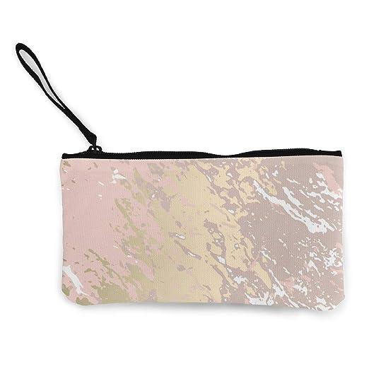 Abstract Golden Pink Wallpaper Unisex Canvas