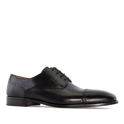 Et am6184 Andres Grandes petites En Machado chaussures Cuir Noir 6w0pqP