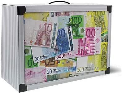 2 x Caja de Regalo caja de regalo Dinero maletín Dinero maletín maletín de aluminio aspecto de 30 x 20 cm: Amazon.es: Hogar
