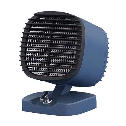 HM&DX Portátil Cerámica Calefactor de Espacio,Calefactor eléctrico con 2 Ajustes de Calor Protección sobrecalentamiento