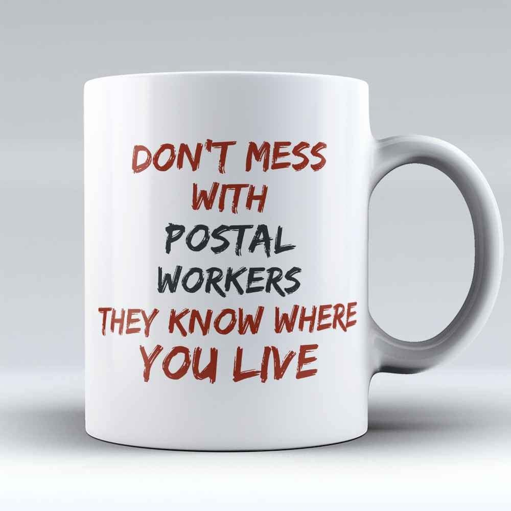 Best Mail Carrier Ever Post Office Worker Coffee Mug
