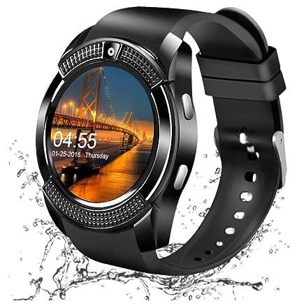 Heypex V8 Sweatproof Bluetooth Smartwatch