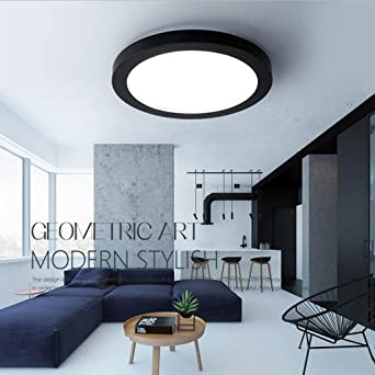 BiuTeFang Ronda luces de las luces LED dormitorio las luces LED modernos techo restaurante creativo sala