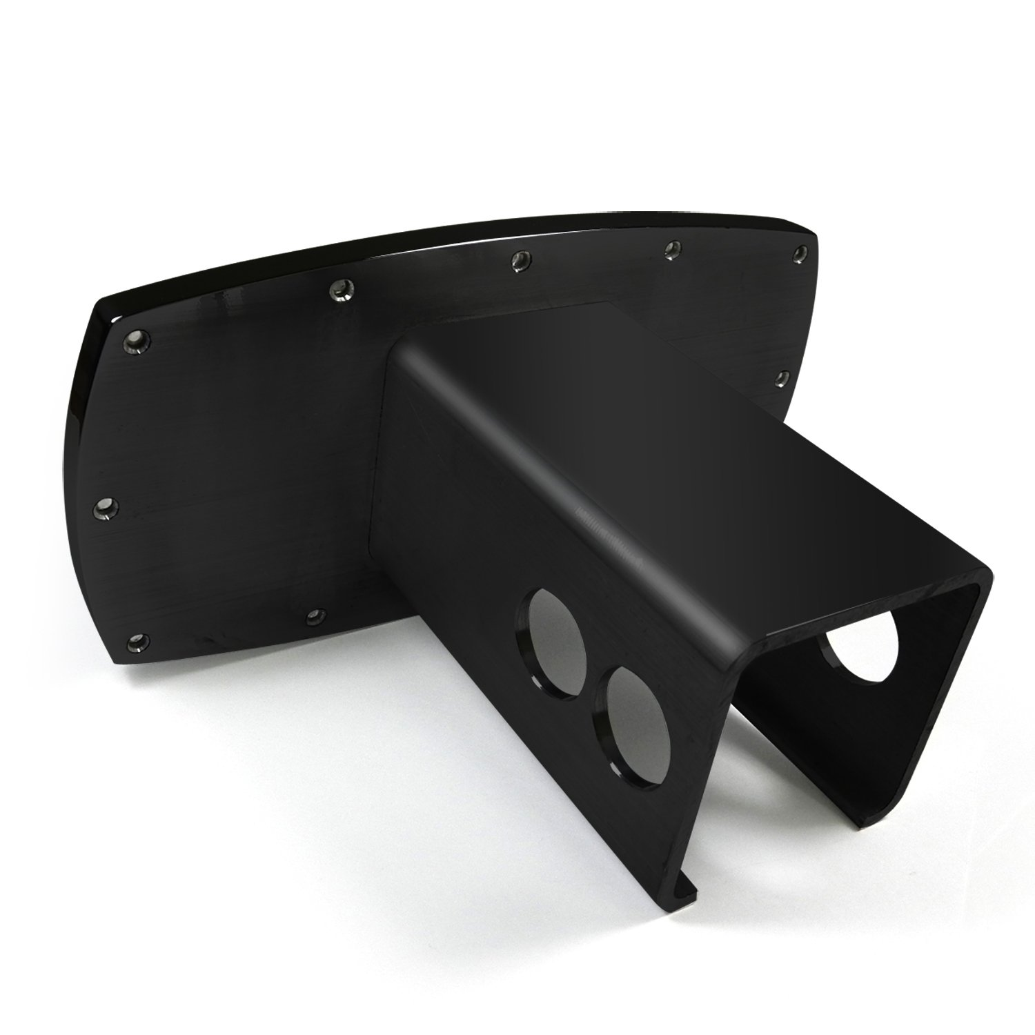 Cadillac Black Trim Billet Aluminum Tow Hitch Cover