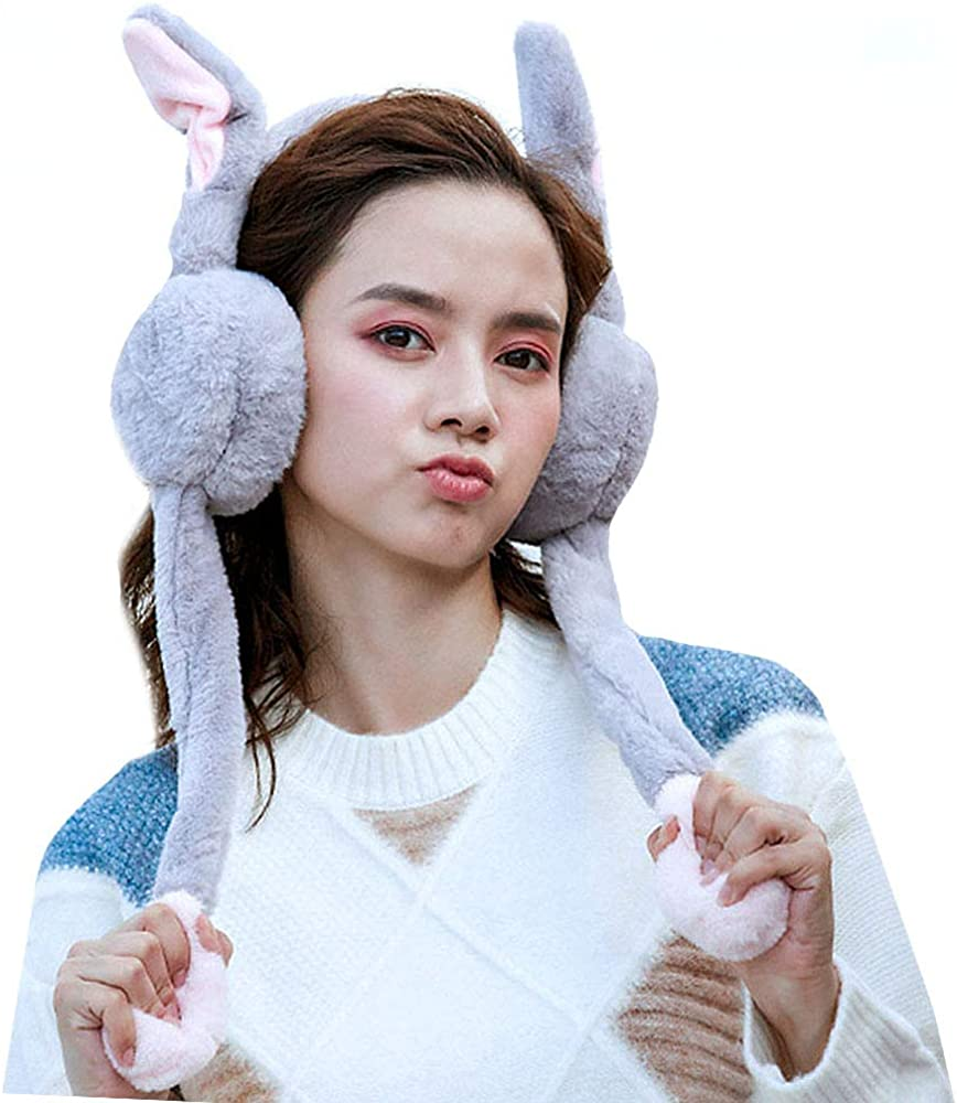 Forestry Science Nature Scenery Winter Earmuffs Ear Warmers Faux Fur Foldable Plush Outdoor Gift
