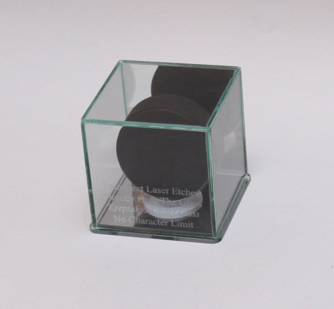Amazon.com: Hockey Puck vidrio Grabado Personalizado ...