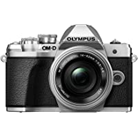 Olympus OM-D E-M10 Mark III Camera - Single Lens Kit with 14-42mm EZ Lens (Silver)