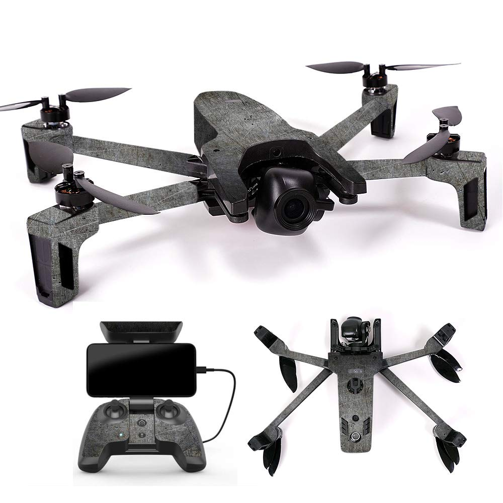 MightySkins スキンデカールラップ オウムステッカー保護カバー 100色展開, Minimal Drone & Controller Coverage, PAANAMIN-Ripped B07H7S96D4 Full Drone & Controller Coverage Scratched Up Scratched Up Full Drone & Controller Coverage