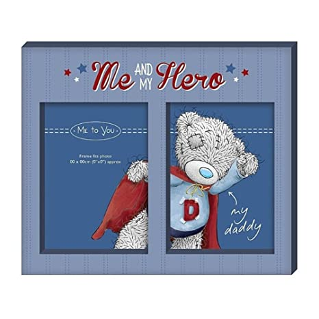 Amazon.com: Me and My Hero Me to You Bear Photo Frame: Kitchen & Dining