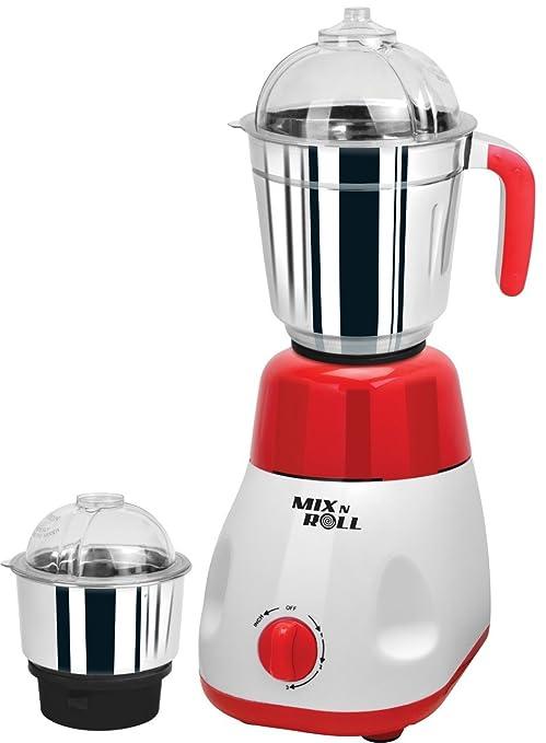 Mix N Roll MNR500 500-Watt Mixer Grinder (Red)
