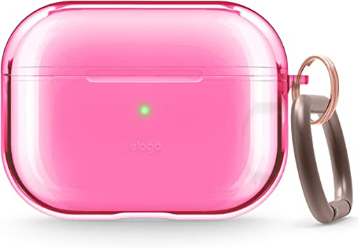Amazon Com Elago Clear Airpods Pro Case With Keychain Designed