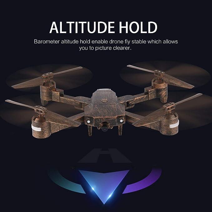 HONZIRY Attop X-PACK1 2.4G Drone 720P HD WiFi Cámara Gran Angular ...