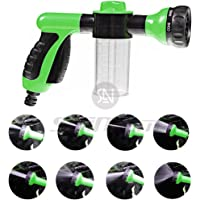 seaNpem Foam Water Spray Gun High Pressure Washing Tool Heavy Duty Pattern Metal Nozzle