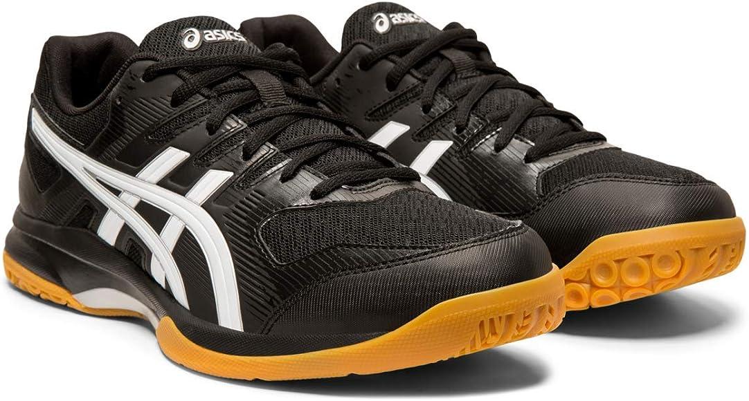 b4c3d6c93 Amazon.com: ASICS Gel-Rocket 9 Men's Volleyball Shoes, Black/White ...