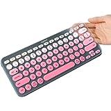 Masino K380 - Funda de silicona para teclado Logitech Bluetooth Multi - Funda protectora ultrafina para teclado…