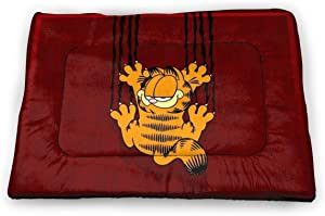 Cute and Super Soft Small Pet Mat, Plush Fabric and Non-Slip Material Pet Mattress, Very Suitable for Cats and Dogs-Garfield Cartoon Cat 1