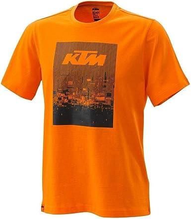 KTM - Camiseta radial (naranja): Amazon.es: Ropa y accesorios