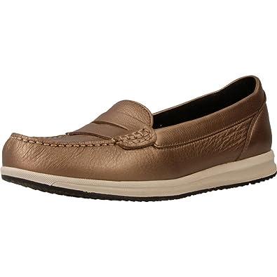 Mocasines para mujer, color marrï¿œn , marca GEOX, modelo Mocasines Para Mujer GEOX D AVERY Marrï¿œn: Amazon.es: Zapatos y complementos
