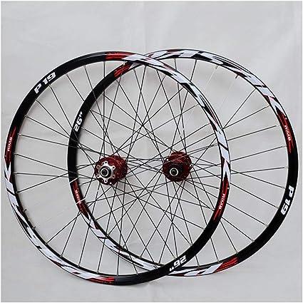 26//27.5//29in MTB Bike Wheels QR//Thru Axle Wheelset Front//Rear Disc Brake Wheels