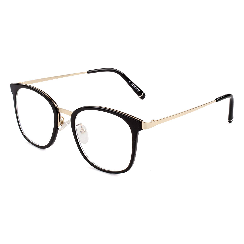 Fake Glasses Fashion Eyeglasses Frame Vintage Retro Non Prescription Clear Lens Glasses Women Men Square PG32