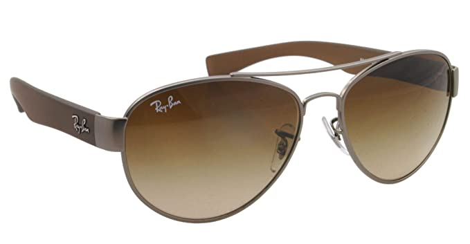 Amazon.com: Ray-Ban anteojos de sol RB 3491 Marrón 029/13 ...