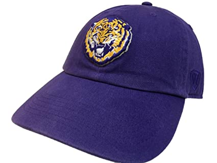 5515dd69a1b21 clearance louisiana state university tigers circle hat ad5ff 352be   authentic top of the world lsu tigers tow purple vintage crew adjustable  strapback ...