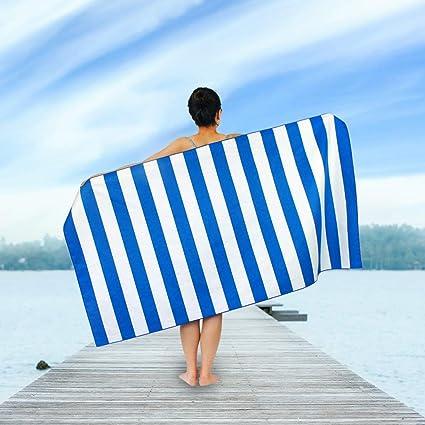 Amazon.com : Microfiber Beach Towels Lightweight Travel ...