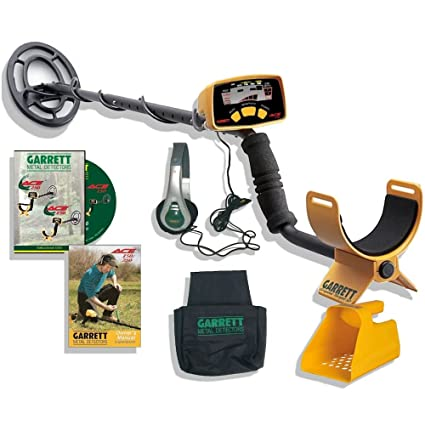 Amazon.com : ACE 150 METAL DETECTOR BEACH HUNTING PACK BY GARRETT : Hobbyist Metal Detectors : Garden & Outdoor