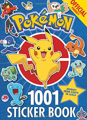 The Official Pokémon 1001 Sticker Book