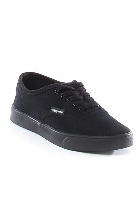 Zapatilla Lona Mujer Jonhson Negro - Philpark - Sneakers Mujer (38)