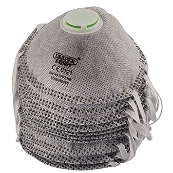 Draper 82485 FFP2 NR Welding Dust Mask (Pack of 10), Grey