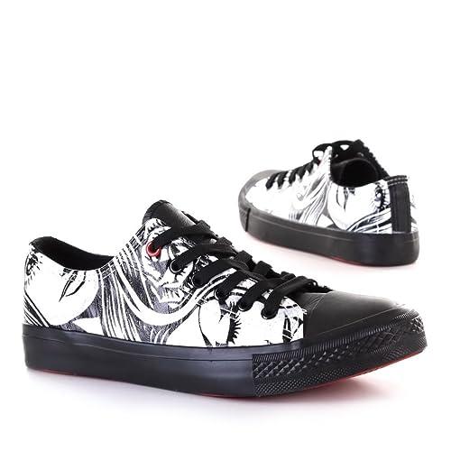 Zapatillas negras deportivas de mujer 42 (020)