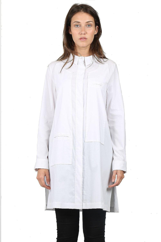 One Damen Hemd 0005, Weiß, 44