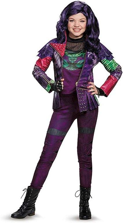 NEW Disney Descendants Mal Girl's Sz Large 10-12 Halloween Costume