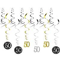 YeahiBaby 50.ª Fiesta de Cumpleaños Decoraciones Feliz Cumpleaños