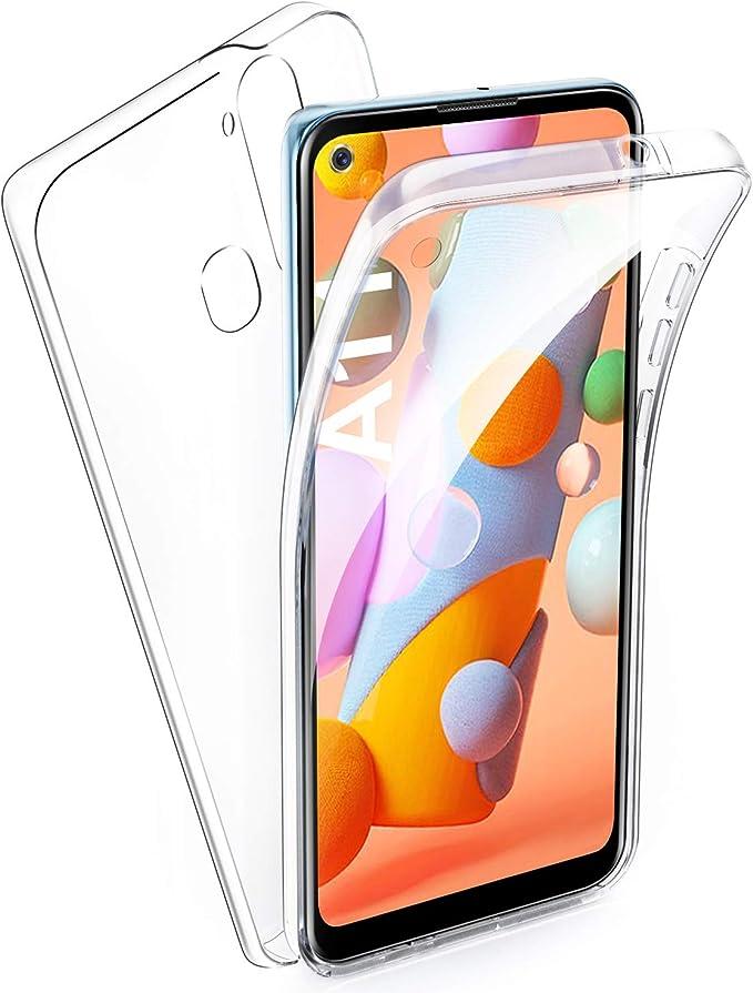 Aroyi Samsung Galaxy A11 Case 360 Degree Silicone Elektronik