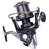 Sougayilang AFL10000 Big Spool Casting Spinning Fishing Reels Saltwater Boat Rock Fishing Reel 10+1bb 4.7:1