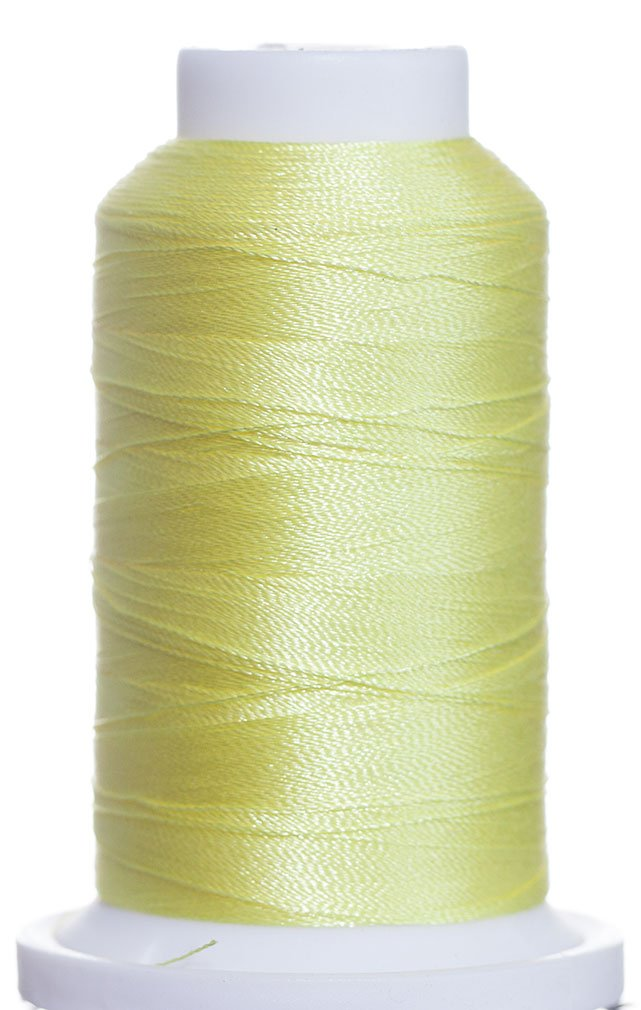 1M-2371 BFC Poly Machine Embroidery Thread, 40 Wt, 1000m, LT Yellow