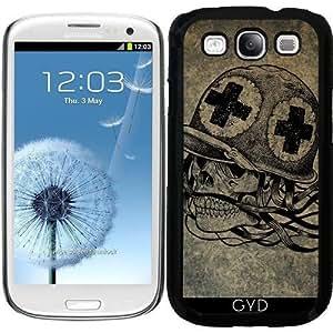 Funda para Samsung Galaxy S3 (GT-I9300) - Cráneo by WonderfulDreamPicture