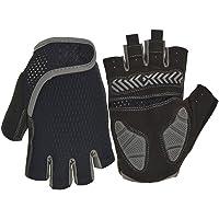 Nutteri Cycling Gloves MTB Gloves Fingerless Breathable Summer Bike Gloves for Men Women Shockproof Gel Anti Slip Half…