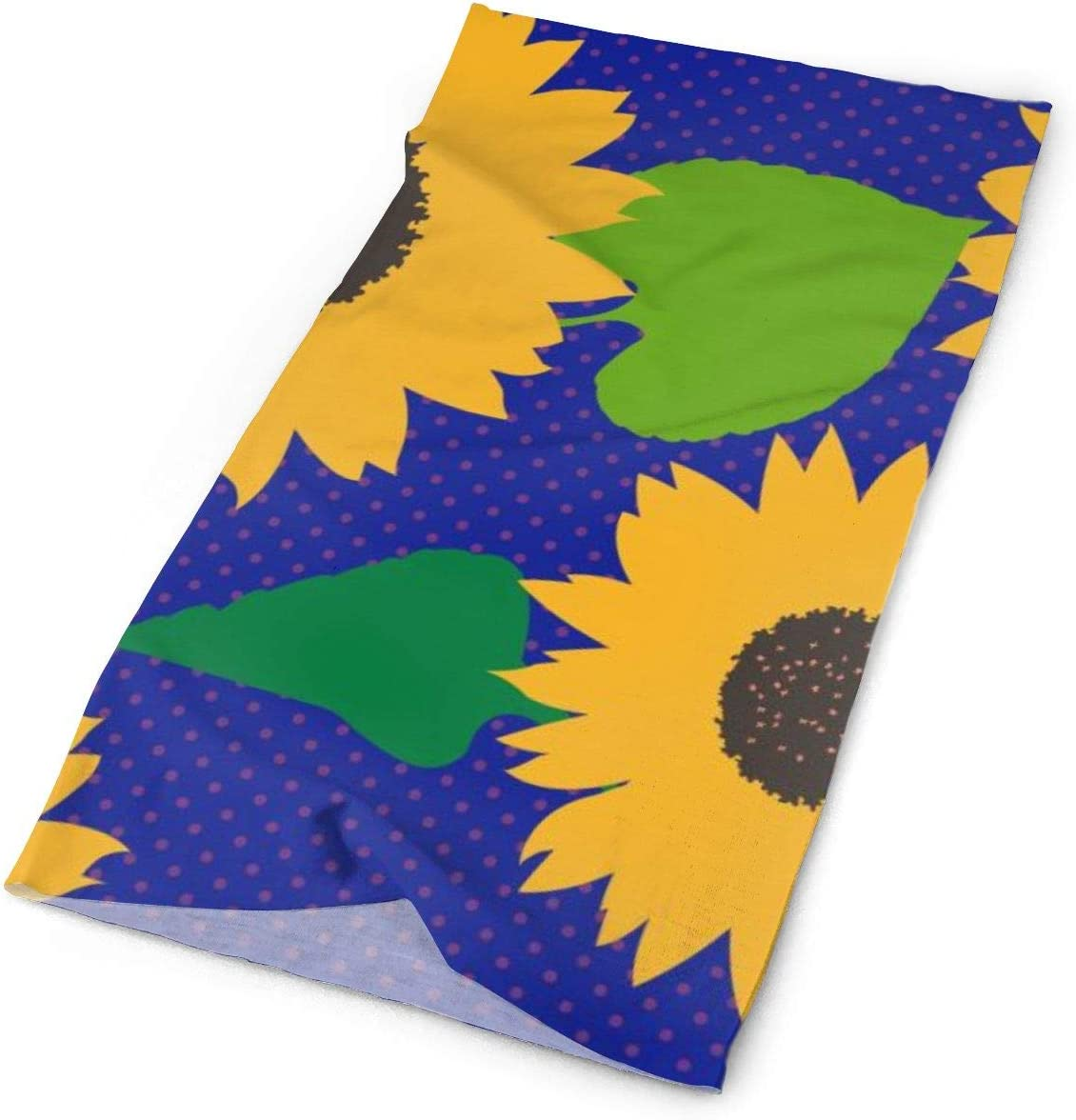 Sunflowers Unisex Fashion Quick-Drying Microfiber Headdress Outdoor Magic Scarf Neck Neck Scarf Hooded Scarf Super Soft Handle