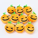 YeahiBaby 4pcs Halloween Mini Plush Doll Pendants