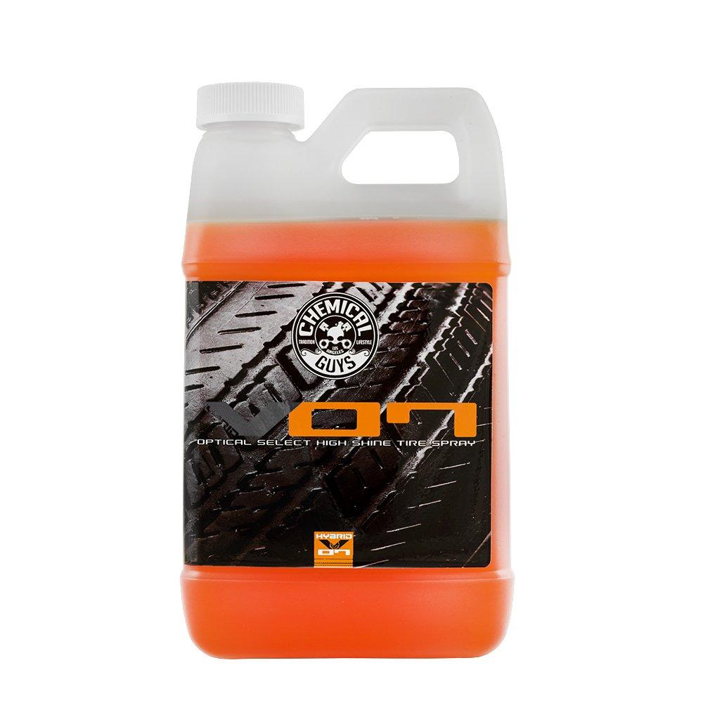 Chemical Guys TVD80864 Hybrid V07 Optical Select Tire Shine (64oz), 64. Fluid_Ounces