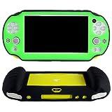 Pandaren® Silikon abdeckung skin hülle Schutzhülle Handgriff (grün) für PS Vita PSV slim 2000