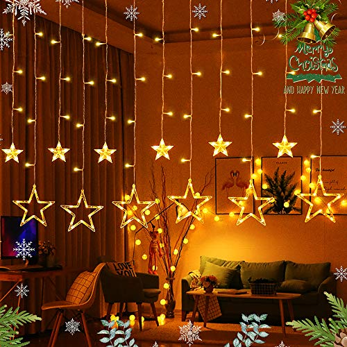 Outdoor Wall Fairy Lights in US - 9