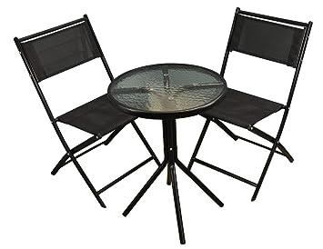 Selections - Juego de jardín estilo bistró con sillas ...