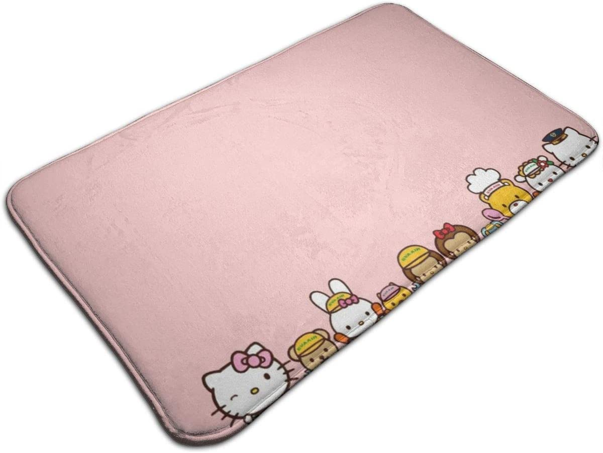 Yang - Felpudo de Bienvenida con diseño de Hello Kitty y Sus Amigos (75 x 45 cm)